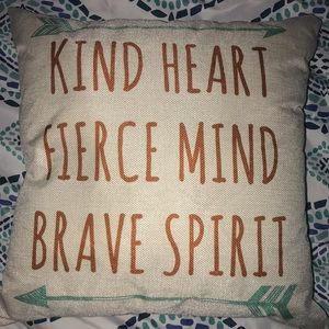 Inspirational pillow! Never used
